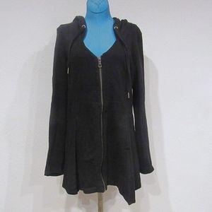 XCVI Mercantile Deep V Cotton Jacket